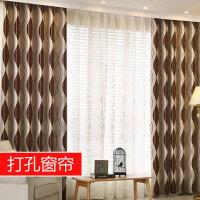 隔音窗帘成品简约现代北欧客厅落地窗卧室遮阳布窗帘遮光布全遮光