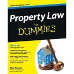 【预订】Property Law for Dummies 9781118375396