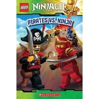 学乐 英文原版 LEGO NINJAGO PIRATES VS. NINJA READER #6