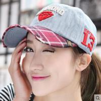 韩版网红同款时尚嘻哈钻石棒球帽 女士户外运动新品情侣鸭舌帽子 男士韩国潮