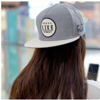 帽子 嘻哈帽 棒球帽 女士韩版嘻哈街舞棒球帽糖果色小清新平沿帽遮阳帽子男潮