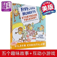 【中商原版】五只小猴子5个故事合集 儿童英文绘本 Five Little Monkeys