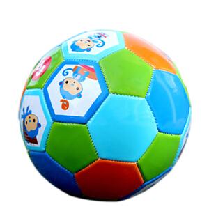 【当当自营】费雪FisherPrice 儿童足球13cm 宝宝玩具球皮球 户外运动玩具 猴子(盒装,已充好气)F0911H