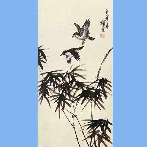 杰出的中国画家,连环画艺术家,曾任中国美术家协会理事,北京市工笔人物画研究会副会长刘继卣(花鸟)
