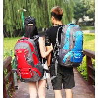 韩版户外男女双肩包大容量防水登山包旅行包 中学生书包双肩包背包
