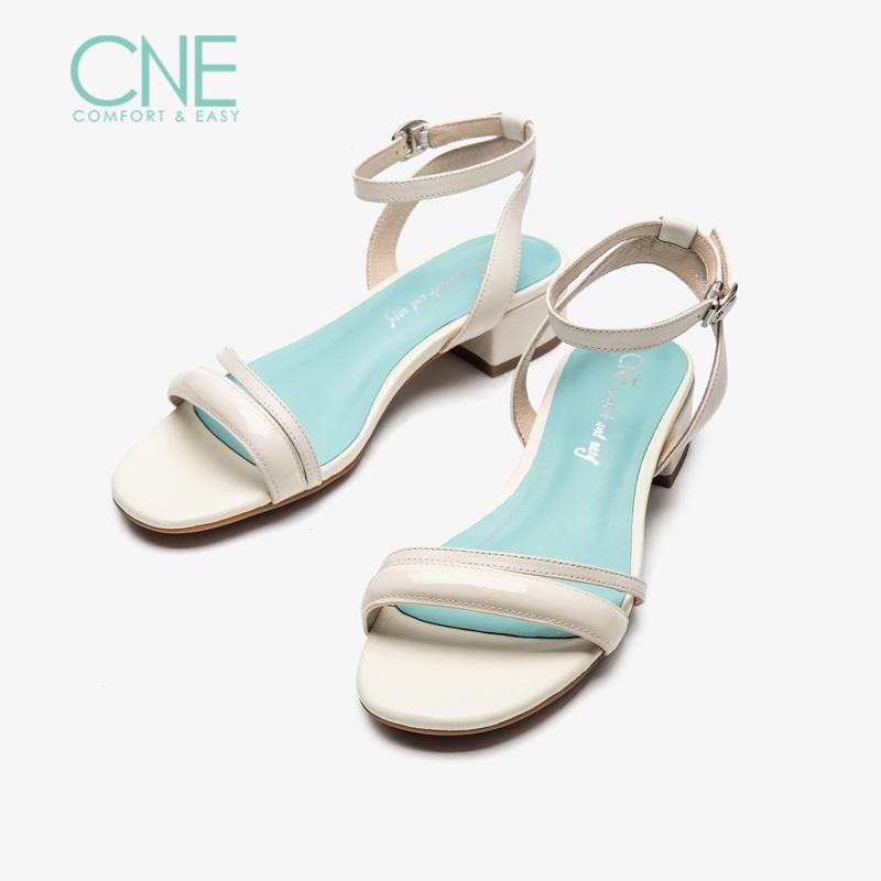 CNE2019夏季新款凉鞋女仙女风晚晚鞋玛丽珍鞋chic风凉鞋AM23702 仙女风晚晚鞋玛丽珍鞋chic风凉鞋