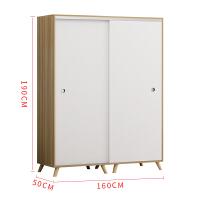 ��s�F代�易衣柜推拉�T���型��木�和�家具定制�P室出租房�M�b柜 并安�b 2�T �M�b