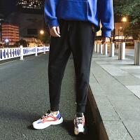 九分裤男潮青少年修身束脚裤青年男士韩版休闲裤运动裤子学生长裤YC-501