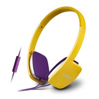 Edifier/漫步者 H640P 线控耳机带麦 头戴耳麦 自代转接线