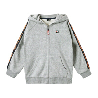 【20新品商场同款价:297元】探路者童装 2020春夏户外男童时尚针织外套QAEI83028