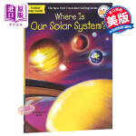 【中商原版】我们的太阳系在哪里?英文原版 Where Is Our Solar System?
