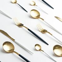 光一欧式西餐餐具家用创意牛排刀叉套装不锈钢叉子筷子勺子网红甜品勺