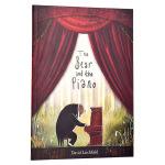 【中商原版】熊与钢琴 森林里的钢琴师 英文原版绘本 The Bear and the Piano 亲子共读故事绘本 D