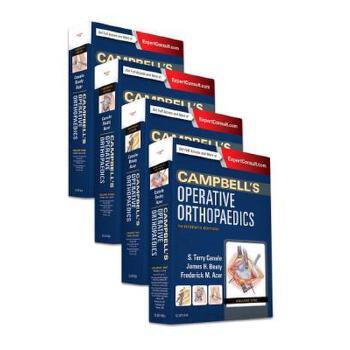 【预订】Campbell's Operative Orthopaedics, 4-Volume Set 9780323374620 美国库房发货,通常付款后3-5周到货!