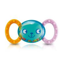 澳贝/奥贝 婴儿小猴摇铃 带牙胶 0-1岁宝宝启蒙玩具463119