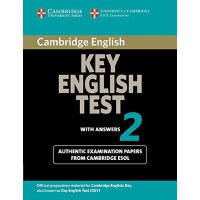Cambridge Key English Test 2 Student's Book with Answers: E