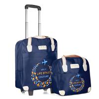 拉杆包女轻便行李箱行李包男手提子母包短途旅游拖包带轮子的旅行包 大