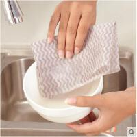 厨房懒人一次性抹布洗碗布吸水擦桌百洁布巾加厚不沾油