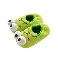 卡通拖鞋 居家男女童季保暖防滑子款宝宝包根棉拖鞋