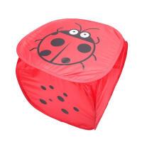 家居折叠衣服收纳筐浴室桶北欧带盖儿童脏娄储物篮布艺箱装号可爱