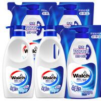 威露士 洗衣液 手洗500gx2瓶+500g袋装补充装x4