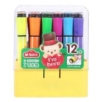 晨光(M&G)QCP92173 泰迪可洗六角印章水彩笔绘画笔