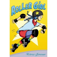 【现货】英文原版 Roller Girl 轮滑女孩 2016年纽伯瑞获奖作品 假期读物推荐