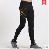 马拉松跑步长裤 速干田径训练 运动紧身裤 男压缩弹力健身裤