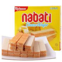 印度尼西亚进口 丽芝士 Richeese  纳宝帝奶酪威化饼干460g克 进口休闲零食