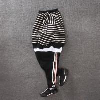 童装男童卫衣套装春装2018新款2韩版3-5儿童6运动两件套7潮衣8岁 黑色 两件套
