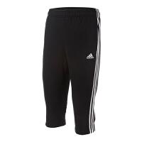 Adidas阿迪达斯 男裤 2018新款透气训练运动休闲中裤七分裤 CG0770