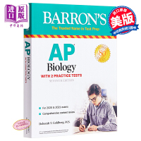 巴朗AP生物学(第6版,修订版) 英文原版 AP Biology Debbie Goldberg