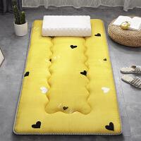 君别褥子单人学生宿舍0.9×1.9m一床垫软垫2.0米加厚大学寝室被褥铺底