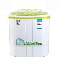 小鸭 XPB22-2822S迷你洗衣机小型婴儿童宝宝脱水双缸双桶半自动