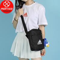 Adidas/阿迪�_斯男包女包秋季�\�有蓍e斜挎包�渭绨�ED6877