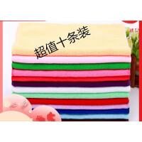 清洁抹布打扫卫生毛巾吸水不掉毛不沾油厨房洗碗擦手巾小方巾