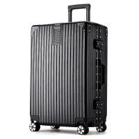 旅行箱行李箱铝框拉杆箱万向轮20女男学生24密码皮箱子28寸