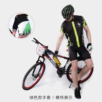 自行车手套山地单车男女透气减震装备骑行半指手套短指