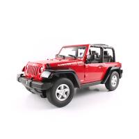 【当当自营】美致模型1:9USB充电吉普遥控车枪式遥控儿童汽车玩具2060红色