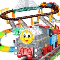 大贸商 超大电动轨道车 电动火车玩具套装 轨道火车小汽车儿童礼物玩具