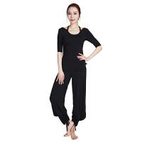[当当自营]皮尔瑜伽(pieryoga)2018新款瑜伽服套装女 跑步运动健身服修身显瘦两件套 81425黑色短袖+1