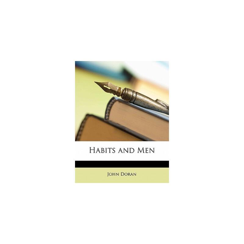 【预订】Habits and Men 预订商品,需要1-3个月发货,非质量问题不接受退换货。