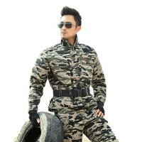 武警真人cs户外07特种兵战术迷彩服男套装男工装列帛迷彩工作服耐磨外军