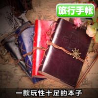 复古韩风手帐本子笔记本文具加厚随身日记小清新手账本记事活页本