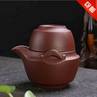 林仕屋紫砂功夫茶具杯子 快客杯一茶壶一杯正品办公杯茶壶茶杯套装CBT5692