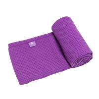 [当当自营]皮尔瑜伽 真密纤维防滑颗粒 瑜伽铺巾深紫