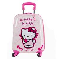 ? 行李箱拉杆箱万向轮韩国旅行箱儿童pc拉杆箱? 黄粉玫红