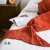 ��s美人�~尾巴�和�毛毯夏季�稳吮�腥松嘲l毯子��毯毛�毯