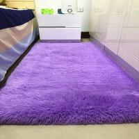 北欧丝毛客厅沙发茶几地毯卧室可爱房间床边毯满铺榻榻米定制地垫 多选项选择