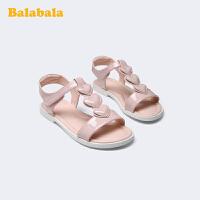 巴拉巴拉官方童鞋凉鞋儿童女平底鞋女大童公主鞋时尚2020新款夏季